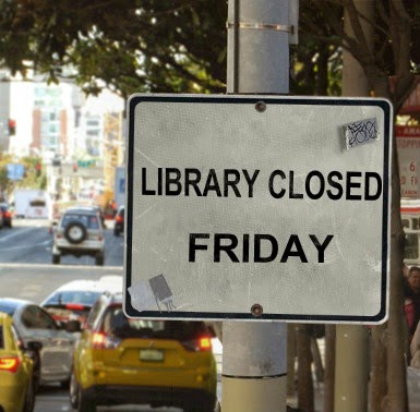 Library Closed on Friday, September 19, 2014