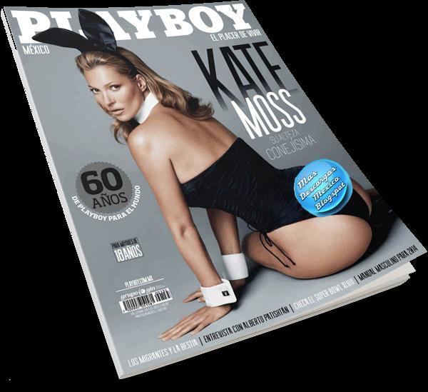 Revista Playboy México Enero 2014 [Kate Moss] mas-descargas-mexico.blogspot.mx