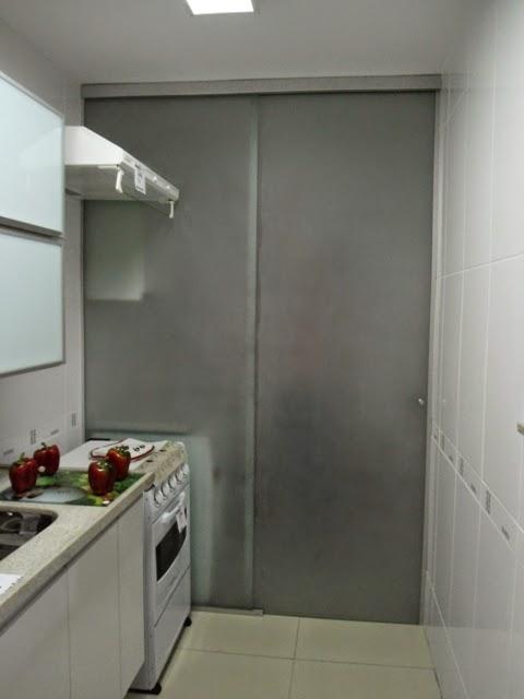 Famosos O Nosso Primeiro Apartamento: Divisória de Vidro para Lavanderia PO98