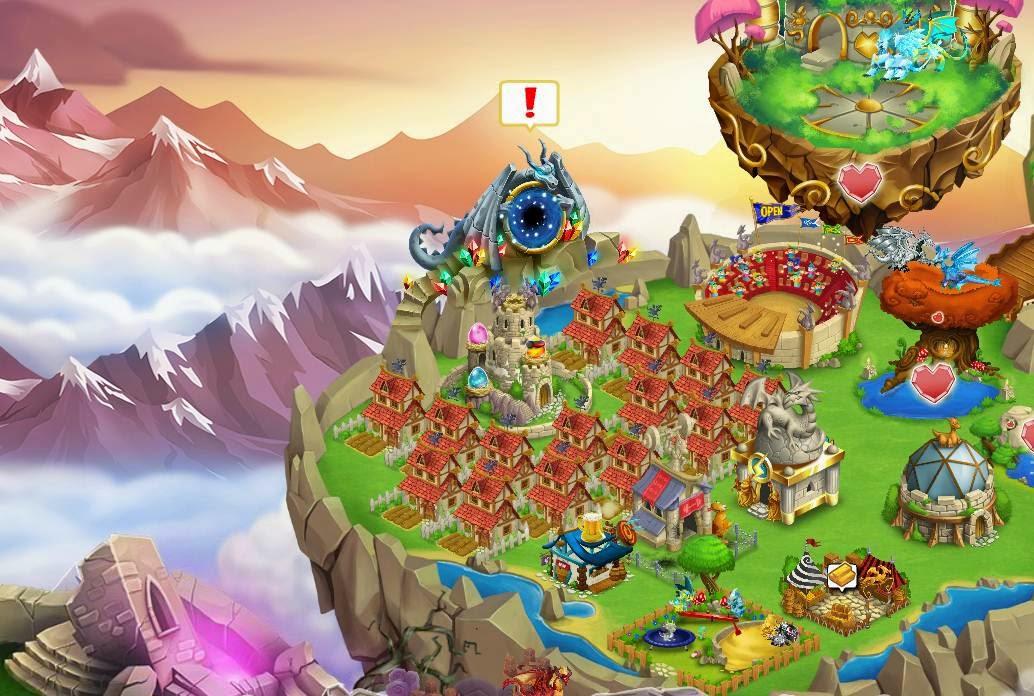 Mundo Antigo do Dragon City!