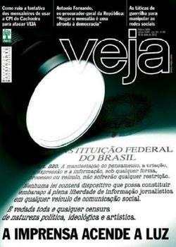 Revista Veja - A Imprensa Acende a Luz