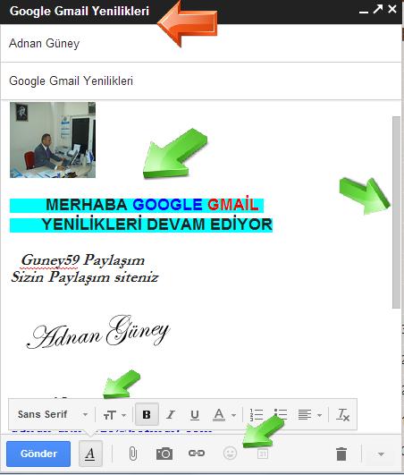 Google Gmail Ürün Yenilikleri