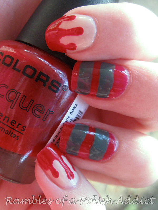 Nightmare on Elm Street Nails! | Rambles of a Polish Addict