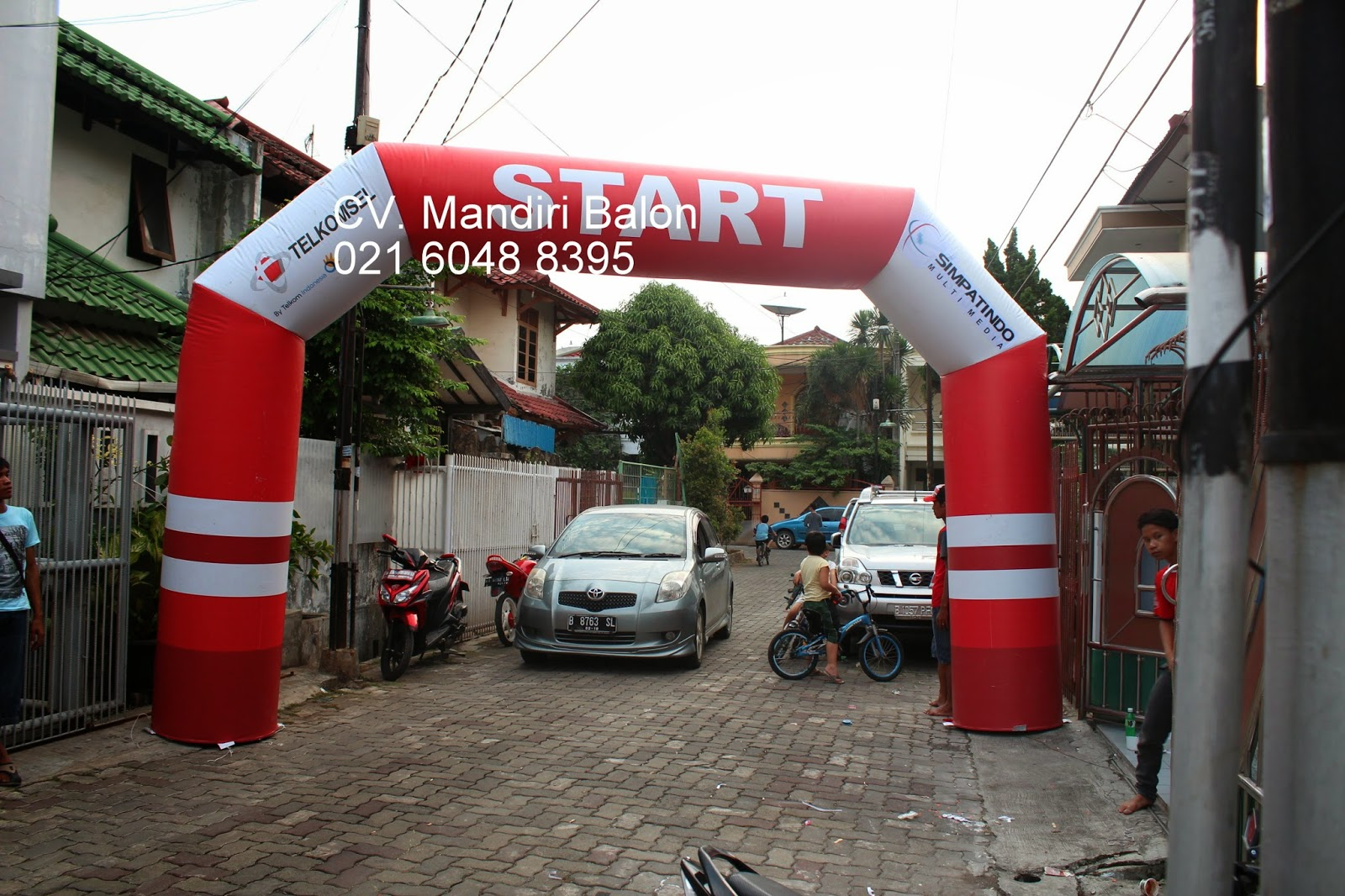GATE BALON TELKOMSEL