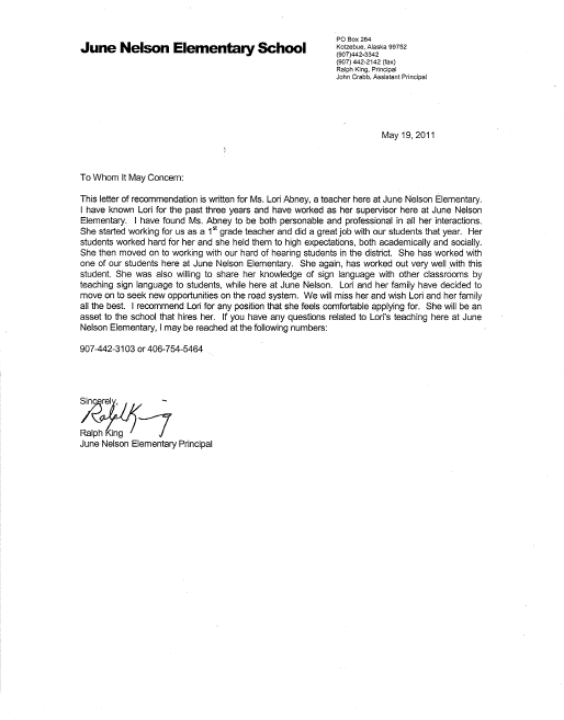 Letter of recommendation help for teachers - Mighty Peace Golf Club