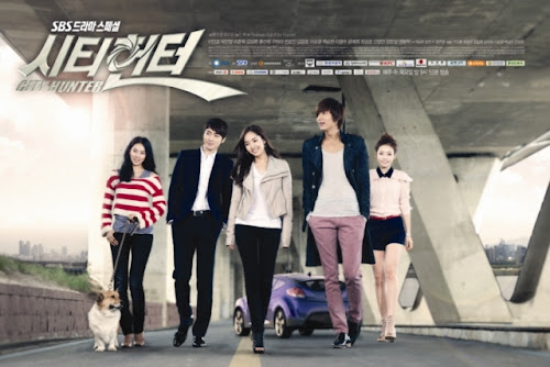 city hunter drama korea