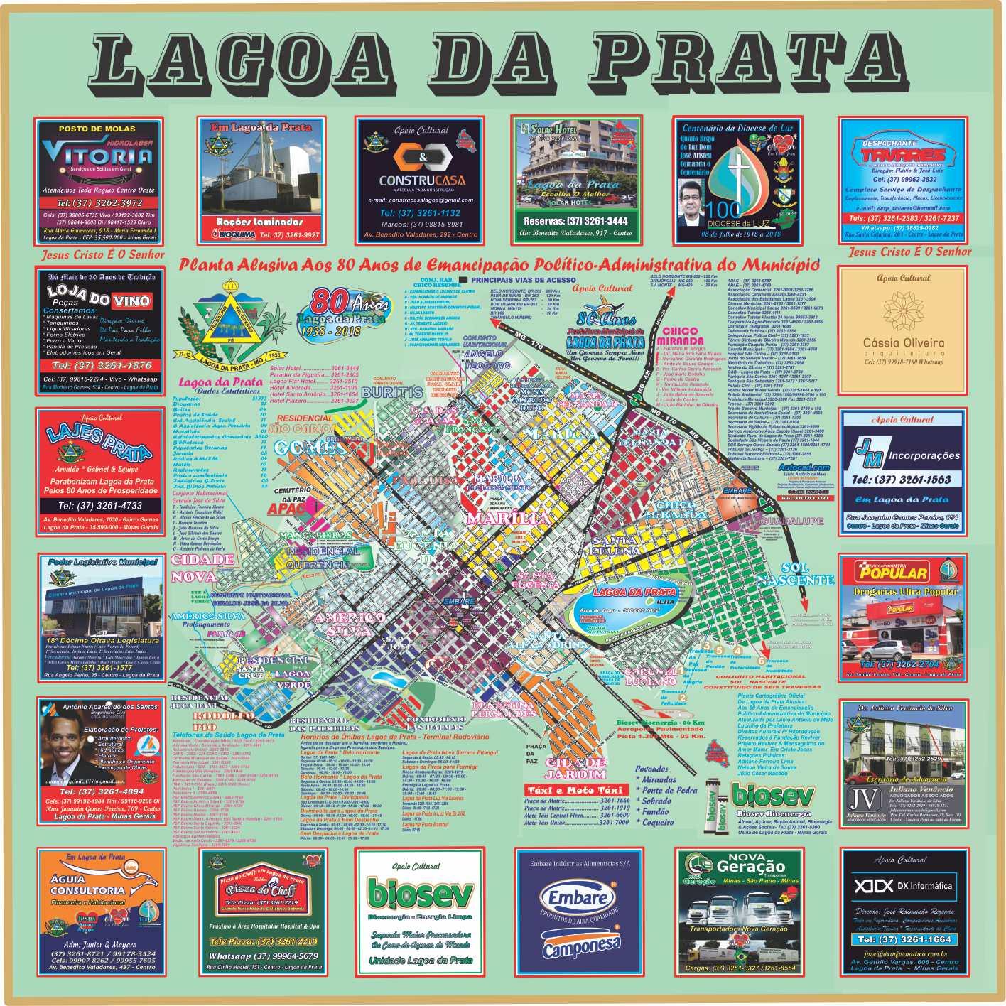Planta Cartográfica Oficial da Cidade