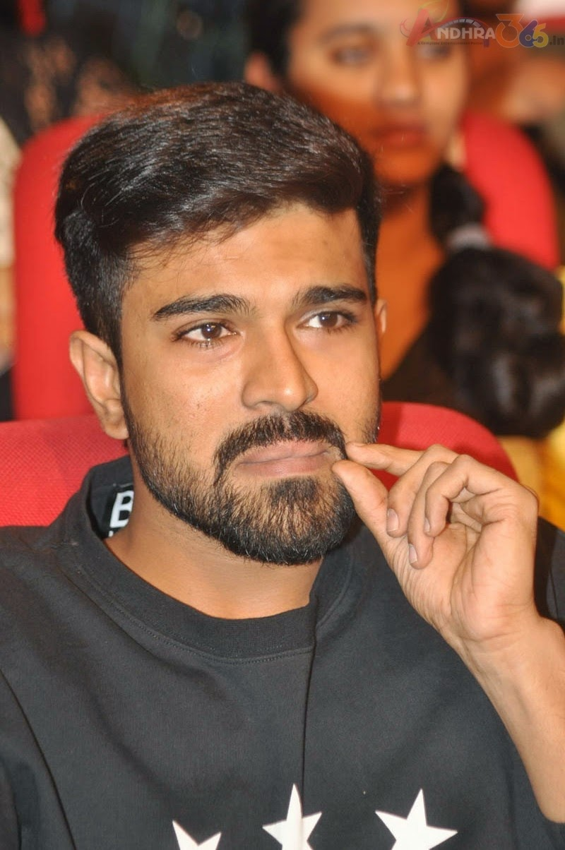 Ram Charan New Look At Pnj Audio Launch Tollycinema365