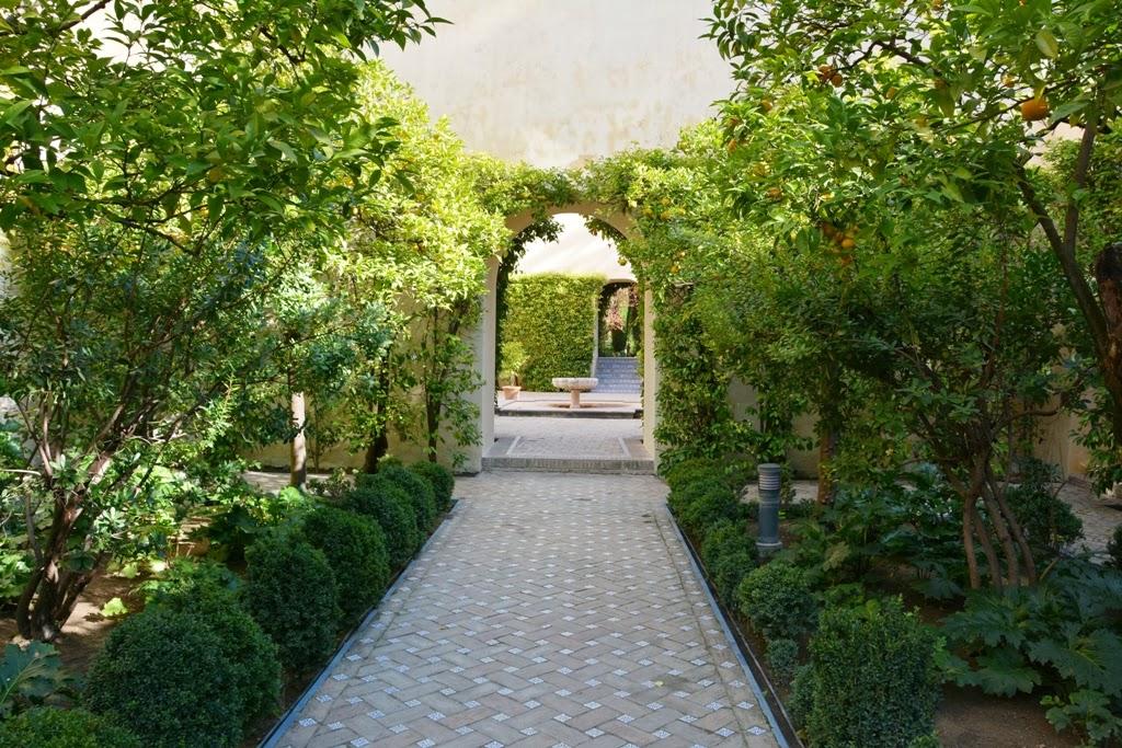 El Alcazar Palace Gardens Sevilla