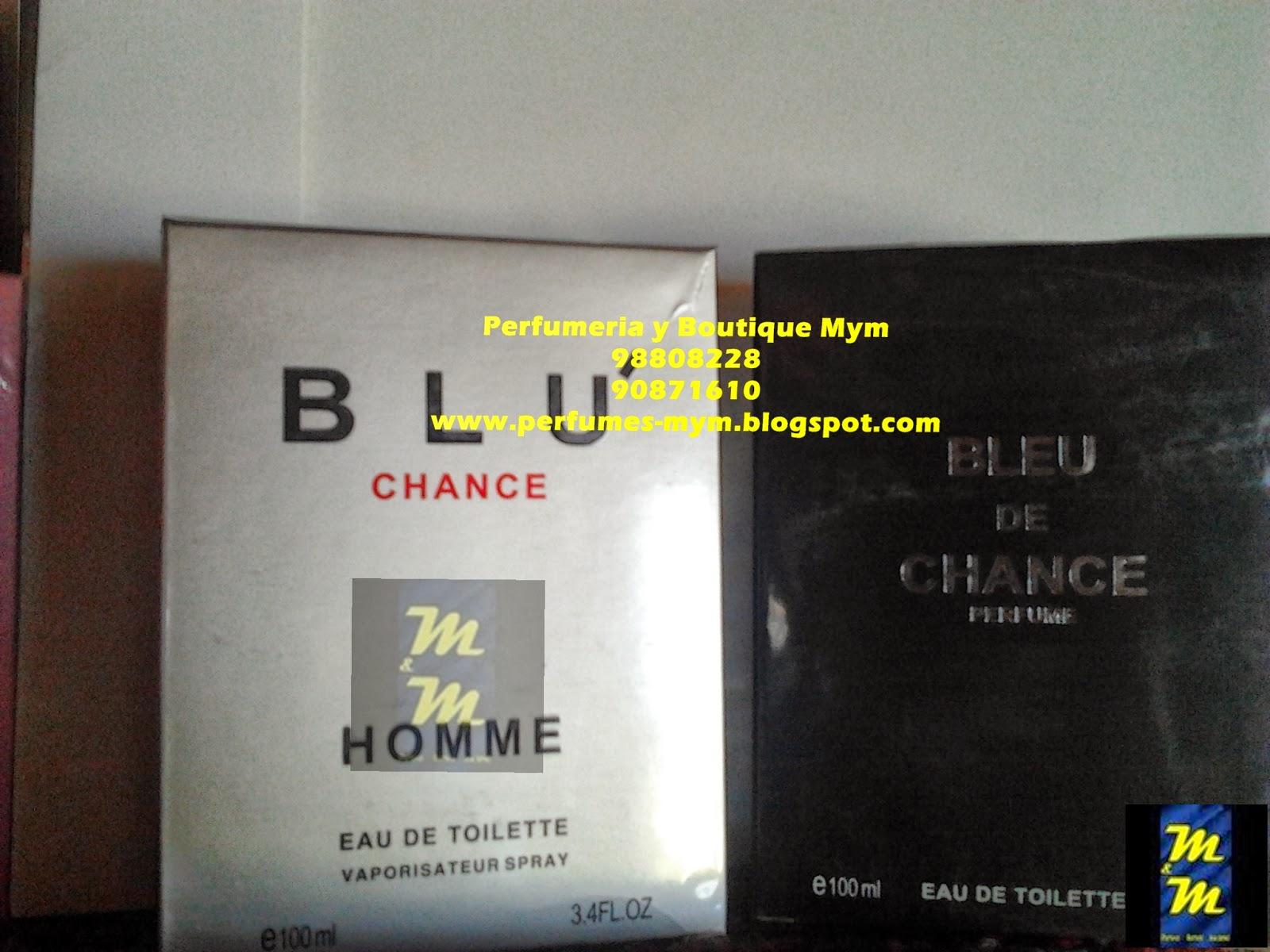 perfume blu y bleu de chance