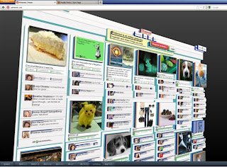 Pinterest in 3D