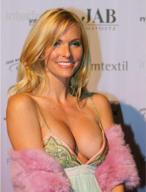 Sonya Kraus Hot Nipple Slip