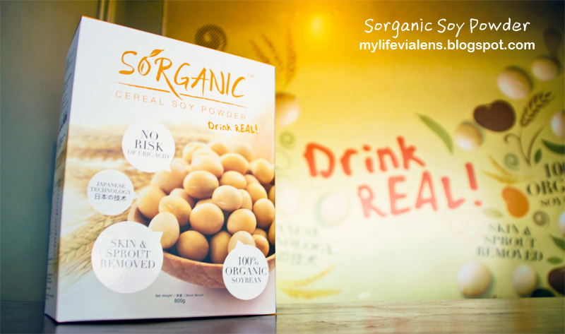 Srganic Cereal Soy Powder