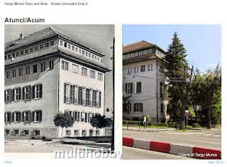 Strada Gheorghe Doja 9, Tirgu-Mures - Then and Now