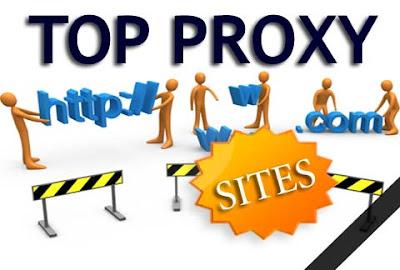 Daftar Web Proxy Gratis