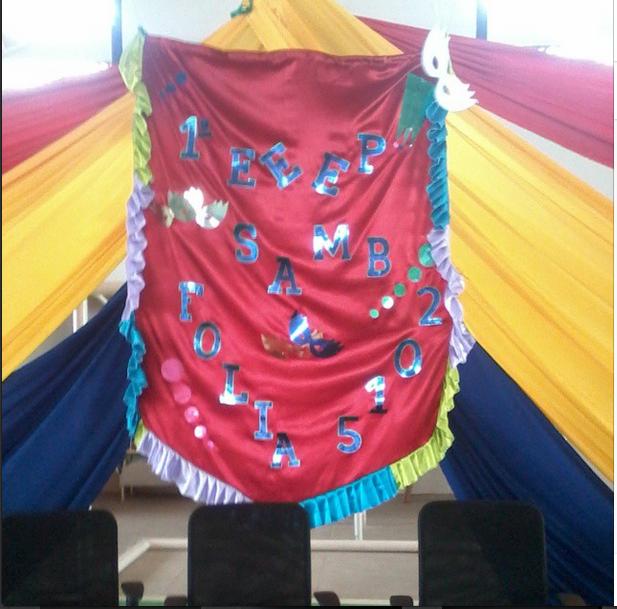 Escola Profissionalizante de Aracoiaba, realiza sua 1ª Folia de Carnaval