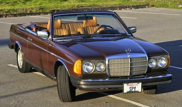 Daily Turismo 5k W123 Custom 1979 Mercedes Benz 300CD Convertible
