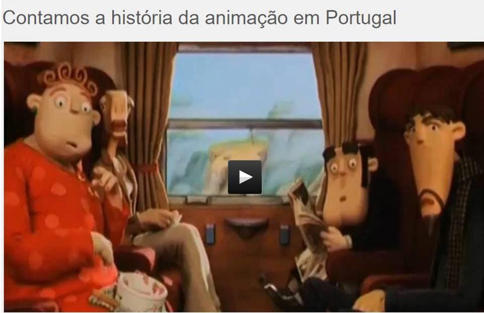 História da Animação em Portugal