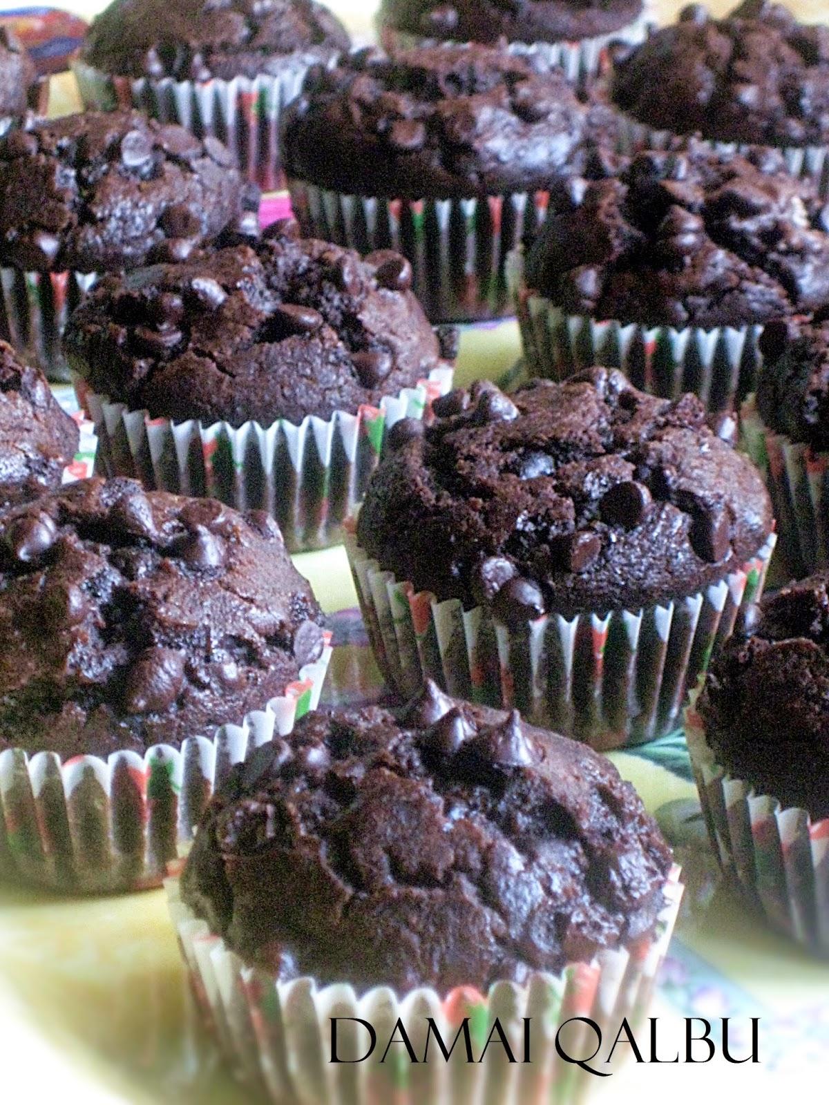 Damai Qalbu Muffin Coklat Chip