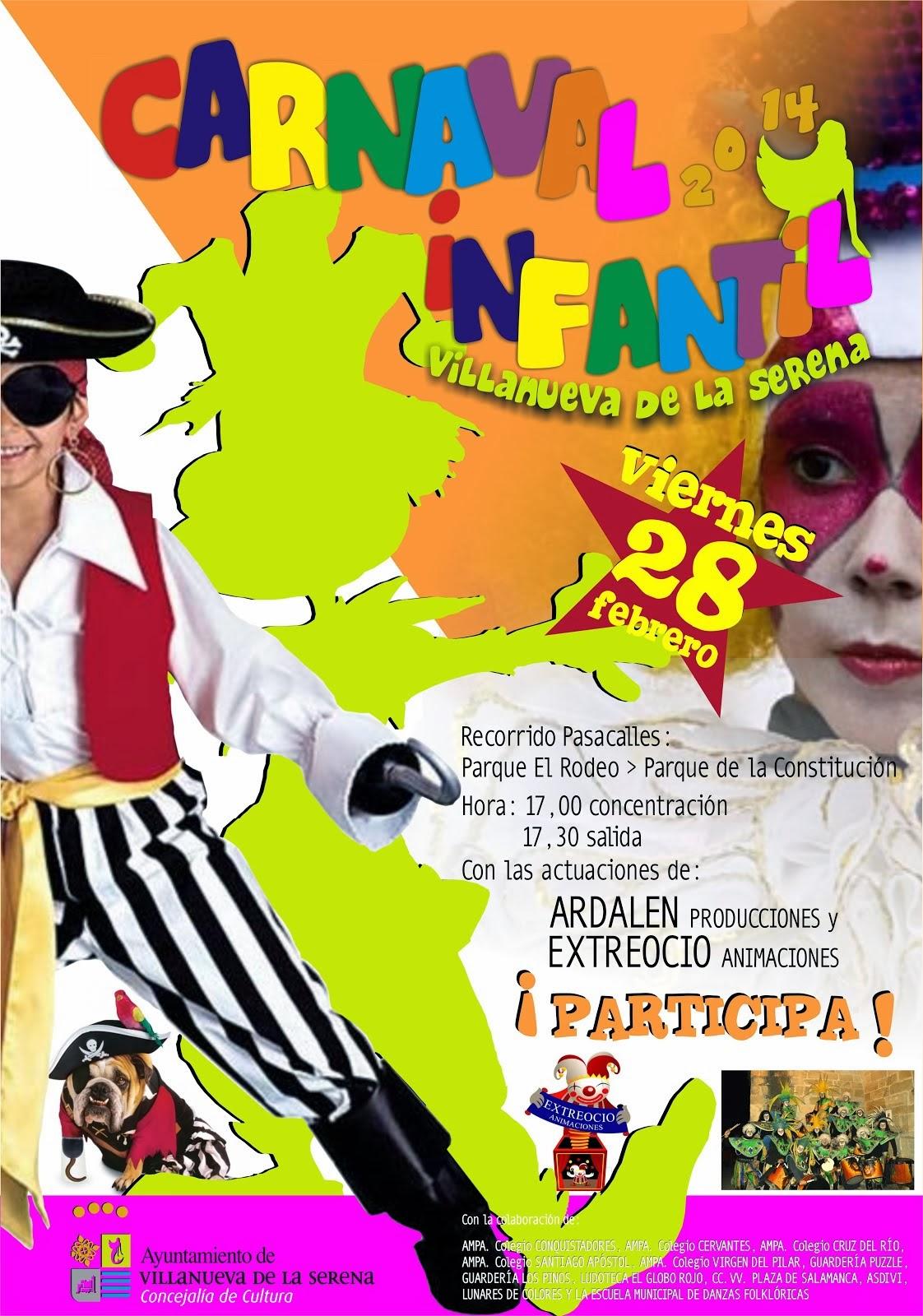 Carnaval Infantil 2014