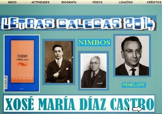 Xosé María Díaz Castro. Letras Galegas 2014