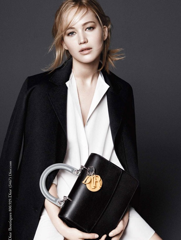 Jennifer Lawrence dazzles for the Be Dior Fall/Winter 2015 Campaign