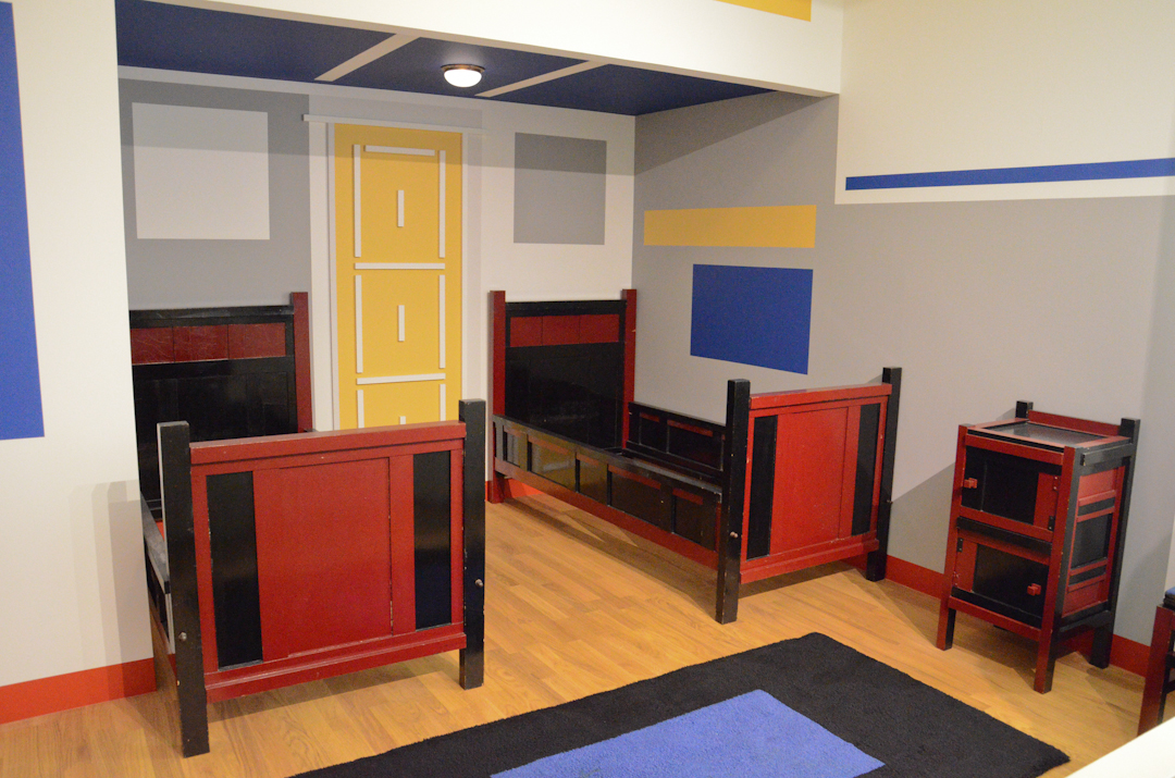 verwatena de stijl and its maison d 39 artiste den haag gemeentemuseum. Black Bedroom Furniture Sets. Home Design Ideas