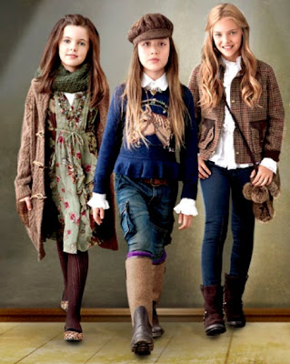 RALPH LAUREN LOOKBOOK NIÑAS DE 7 A 12