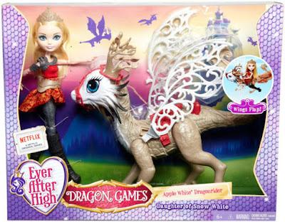 TOYS : JUGUETES - EVER AFTER HIGH : Dragon Games  Apple White & Dragon Braeburn | Muñeca - doll   Producto Oficial 2015 | Mattel | A partir de 6 años  Comprar en Amazon España & buy Amazon USA