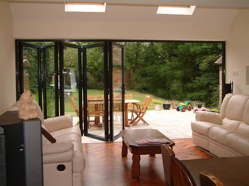 Office And Factory Renovation: Bifold Doors - Modern Design Features
