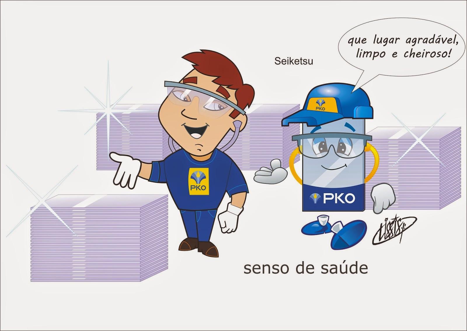 Programa 5 S desenho senso saúde 02 Seiketsu