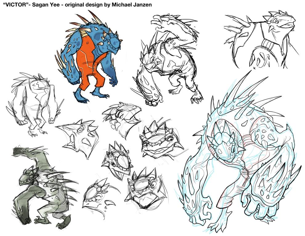 Good Character Design Apps : Saganimation the art of sagan yee character design