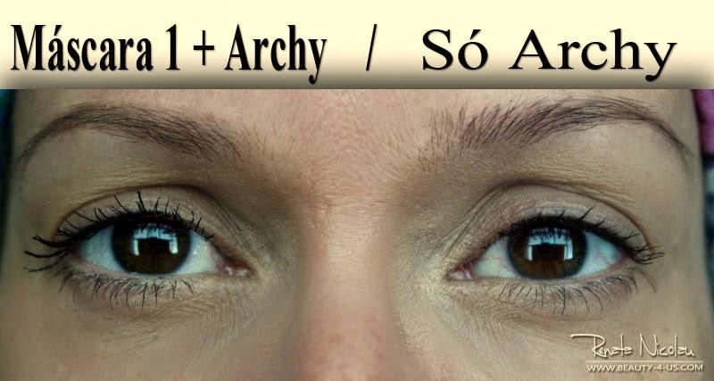 Resenha/Review: Máscara para cílios Archy Make Up
