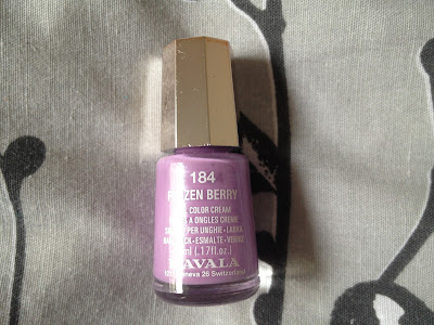 Nails of the Day – Mavala Frozen Berry