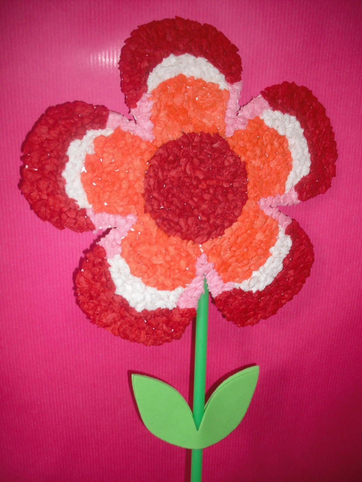 Jamesmay arts and crafts blog tissue paper flowers tissue paper flower craft mightylinksfo
