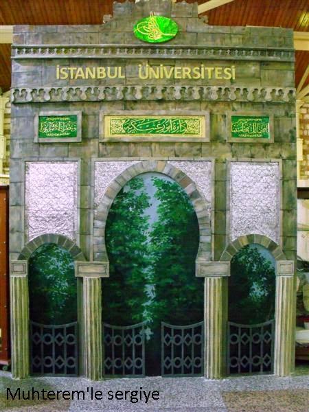 İstanbul üniversitesi giriş kapısı