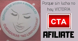Página de Facebook de la Sección Sindical de CTA en el Servicio de Ayuda a Domicilio del Ayuntamien
