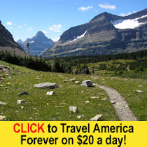 Travel America on $20 a day!