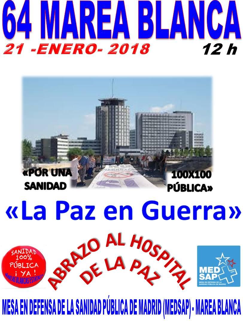 Domingo 21 12h  Defiende la Sanidad Pública