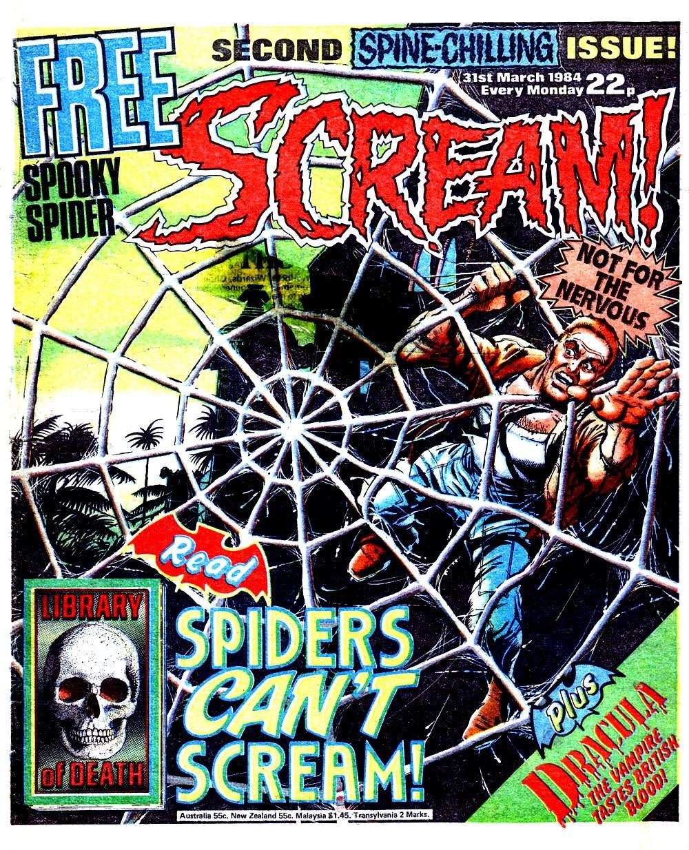 THE COBWEBBED ROOM: 'SCREAM' Comic