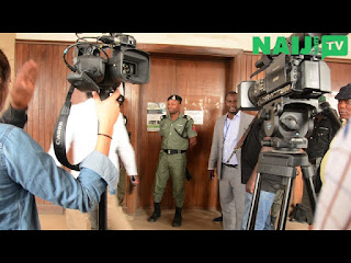 Evans reportedly arrives Lagos court in handcuffs