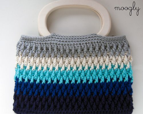 Free Crochet Purse Patterns With Wooden Handles : Fiber Flux: Super Stripes! 30+ Free Crochet Patterns Full ...
