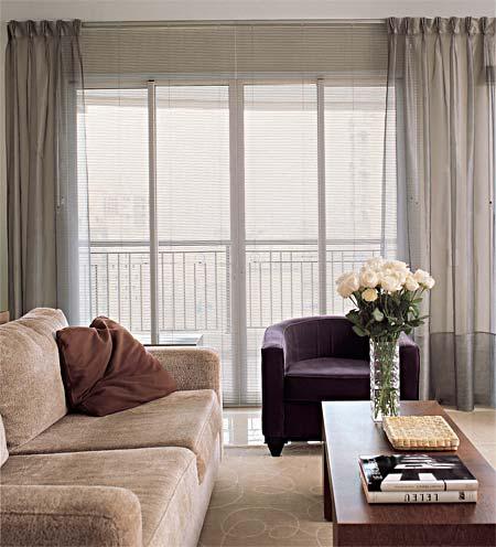 Rom cortinas transparentes e vaporosas for Cortinas transparentes