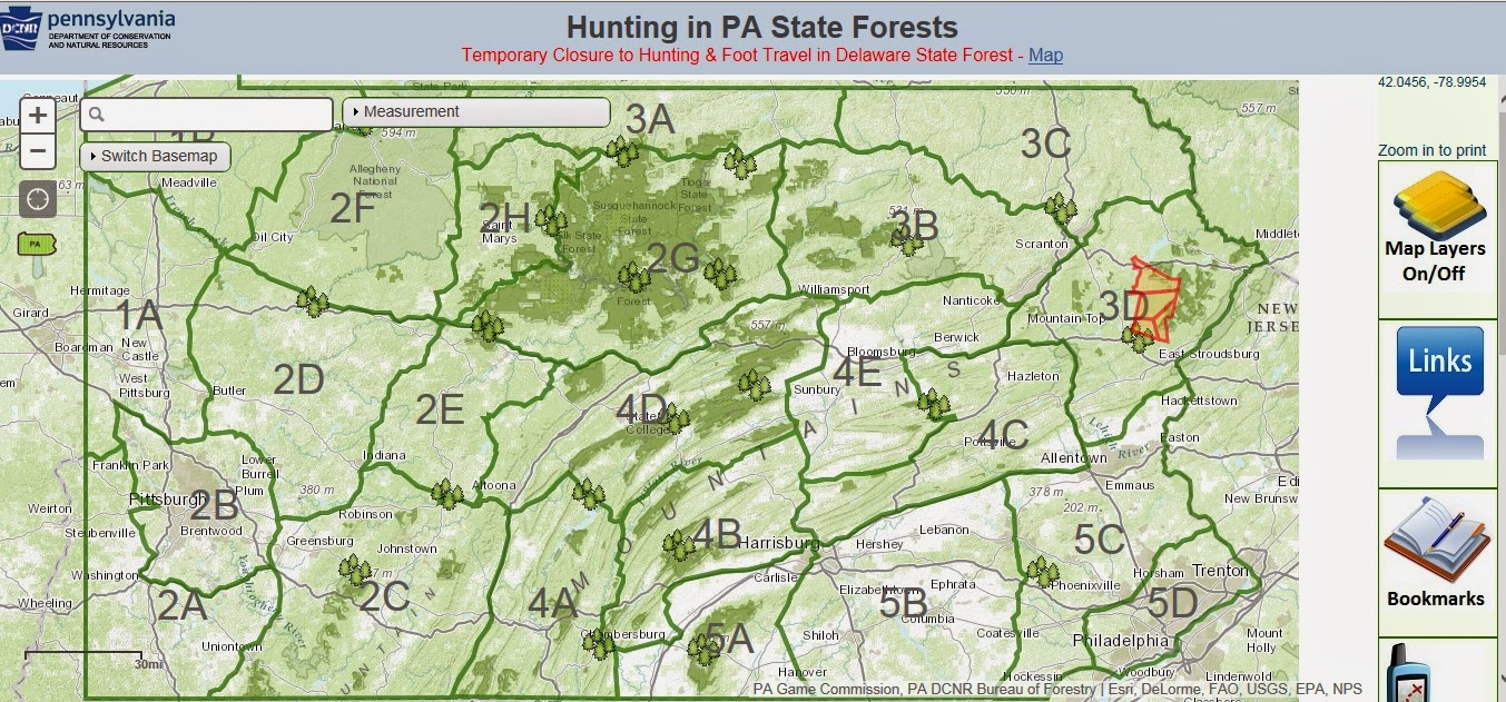 Full O39Bull Gazette New Map Aims To Put Pennsylvania