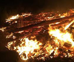 Slashpile ablaze