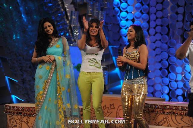 Sridevi, Priyanka Chopra & Shweta Tiwari  - (5) - Sridevi, Priyanka Chopra & Shweta Tiwari at Greenathon 2012.