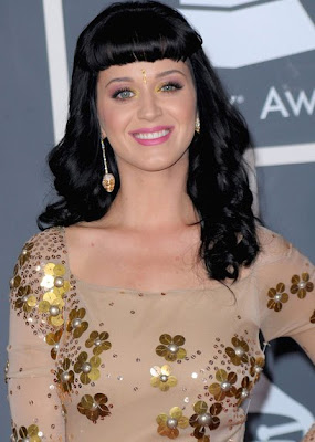 Katy Perry Dangling Crystal Earrings