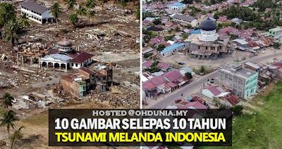 Bagaimana 10 tahun selepas tragedi tsunami di Indonesia