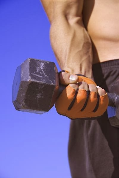 Dumbbell palms-up wrist curl exercise for forearm1