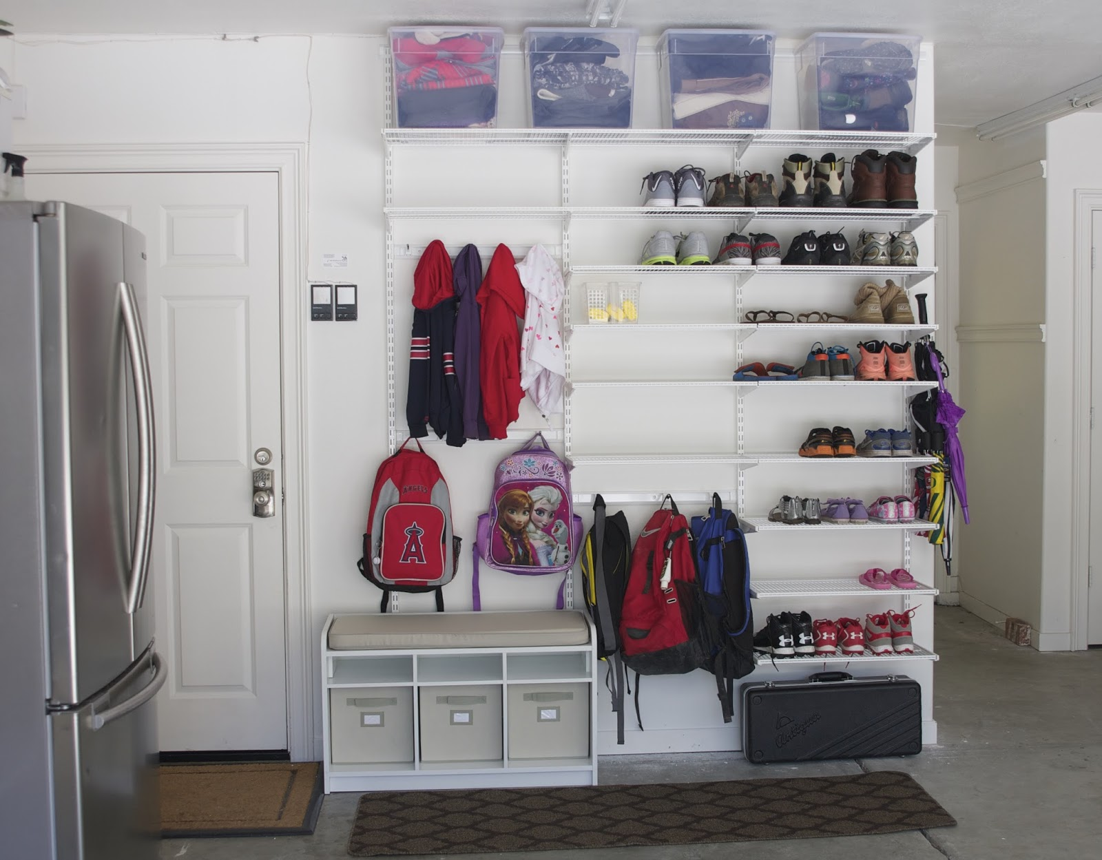 5 Quick And Cheap Garage Organizing Ideas Part - 41: Operation: Organization Sam From Simply Organized Garage Organization | 11  Magnolia Lane